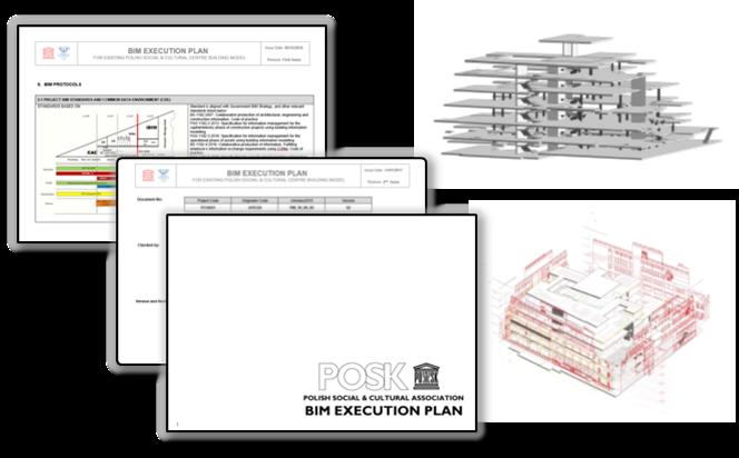 Trójwymiary model BIM POSKa