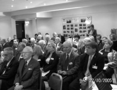 Uczestnicy konferencji poświęconej jubileuszowi 65-lecia STP