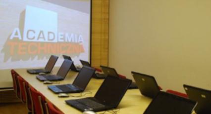Sala wykładowa Akademii Technicznej w 2009 roku.