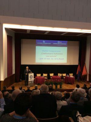 Wykład inauguracyjny prof. Jerzego Buzka (fot. Piotr Świeboda)