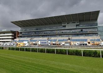 Trybuna Stadionu Wyścigów Konnych w Doncaster