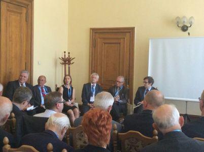 Panel dyskusyjny z udziałem prezesa Mariana Zastawnego (fot. Piotr Świeboda)