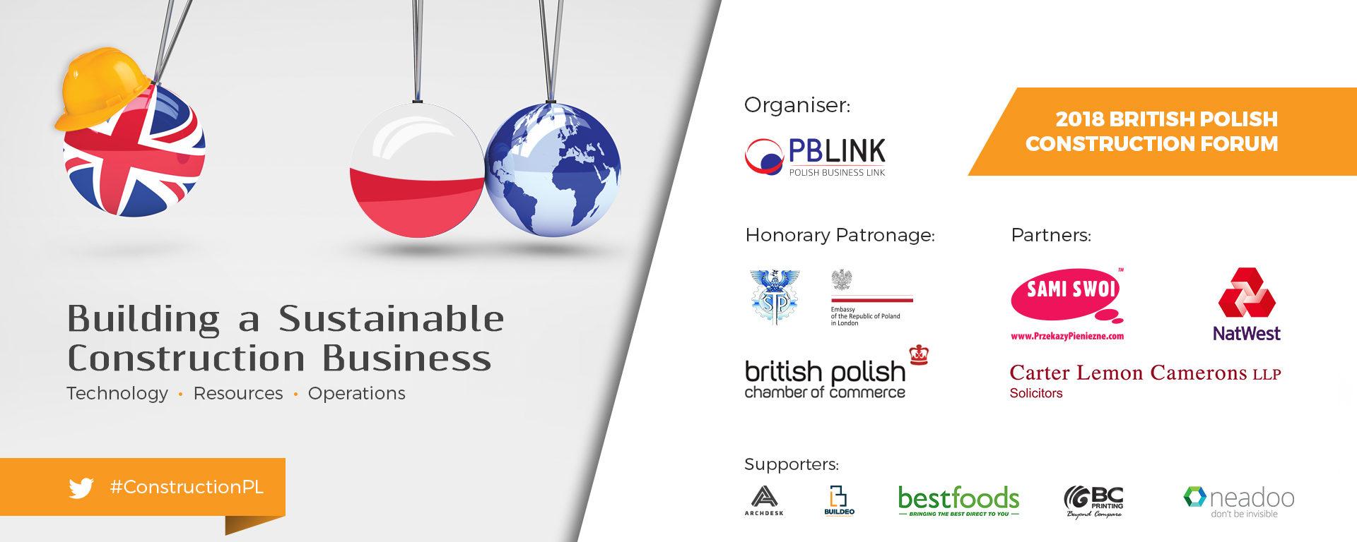 British-Polish Construction Forum 2018