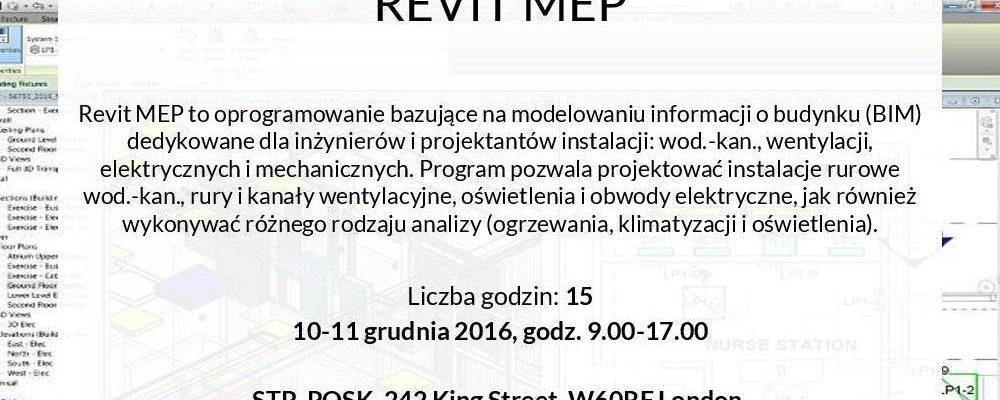Kurs Revit MEP